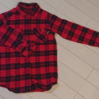 チェックシャツ 130
