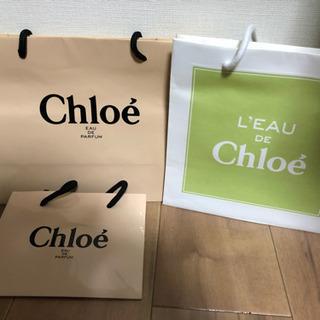 Chloe ショップ袋