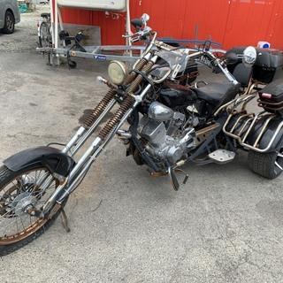 中華 アメリカントライク 250cc アイスベアー ? レストア...