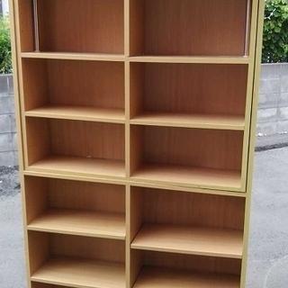 高さ 調整式 突っ張り棒 本棚 オープンラック 書棚 収納 飾り...