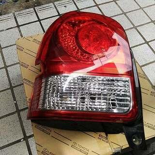NCP141 ポルテ LED テール ランプ ライト レンズ 左...