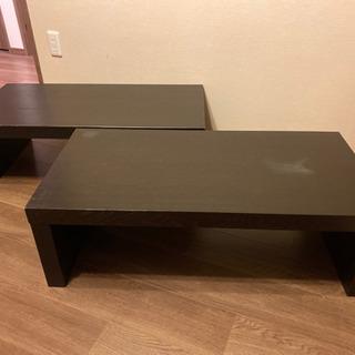 商談中【6月7日までで廃棄します】ローテーブル 机 2個セット