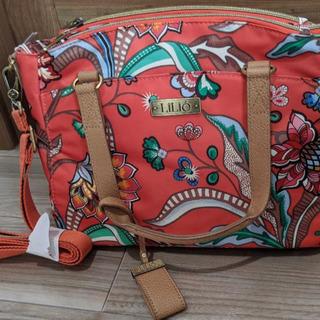 LiLiO リリオ 2ウェイバッグ、ポーチセット