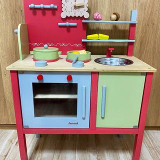 ままごと 木製キッチン