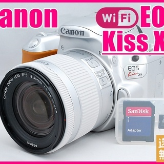 Canon キヤノン kiss最新機種♪ EOS kiss X9...