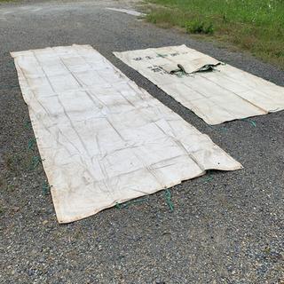 防炎シート 消防庁認定品 大量 中古 1.8m×5.4m 1.8...