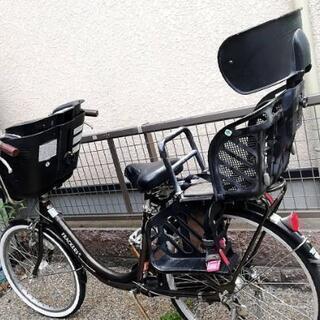 3段切り替え付き子供のせ自転車