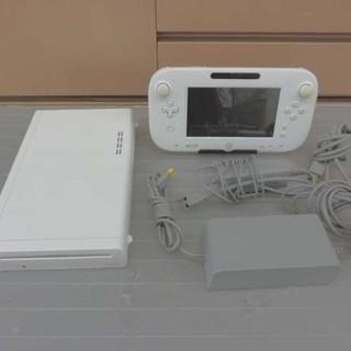 ゲーム機 ニンテンドー WiiU 白 8GB 2012 初期化済...