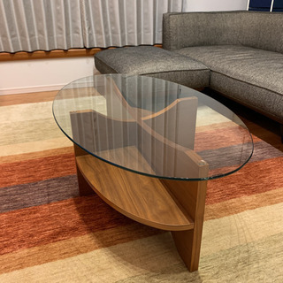 NOCE ノーチェ ガラステーブル センターテーブル ローテーブル