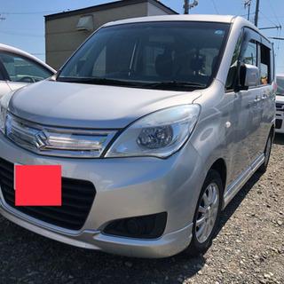 スズキ ソリオ Gリミテッド 4WD 車検令和2年8月迄 シルバ...