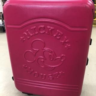 ピンクのスーツケースMサイズSサイズセット