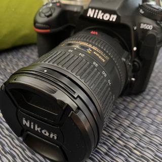 Nikon D500 標準ズームレンズ付