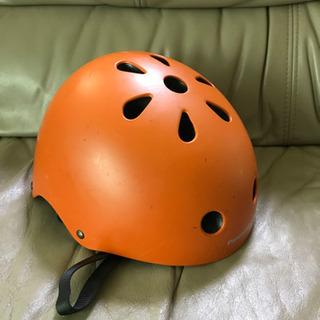 Panasonic子供用自転車ヘルメットオレンジ