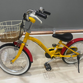 16インチ。子供用自転車。美品です。