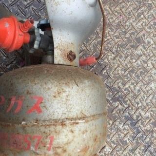 LPガスタンク  中身なし鉄のタンクのみ