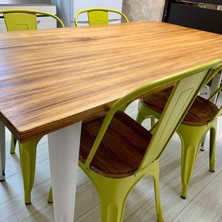 ダイニングテーブル テーブル+イス4脚セット