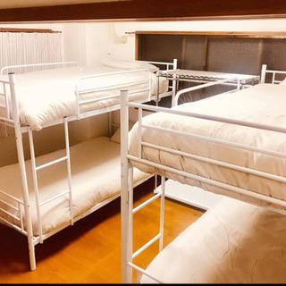 パイプ耐震 2段ベッド マットレス  掛け布団 枕 寝具カバー セット