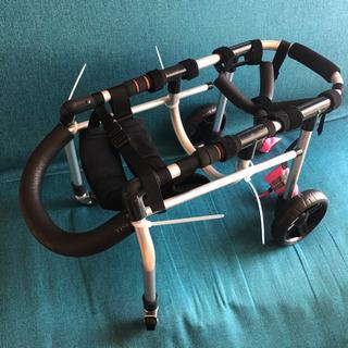 犬用車椅子■小型犬用4輪車いす 顎乗せ付 歩行器 介護