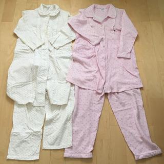 マタニティ パジャマ 長袖 2枚セット
