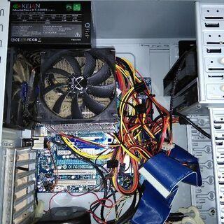 PC 部品取り AMD 4コア メモリ16G 電源 Window...