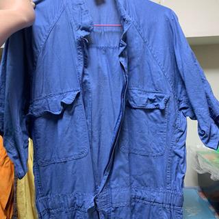 作業着 つなぎ 半袖 DIY 衣装