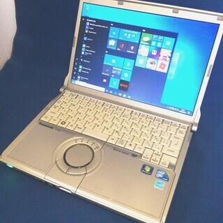 超速SSD【Core-i5】軽量コンパクトLet's note/...