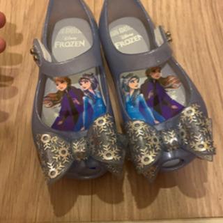 エルサ靴 ディズニープリンセス アナと雪の女王 キッズサンダル ...