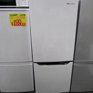 ハイセンス 2ドア冷蔵庫 2018年製 150L HR-D15A...