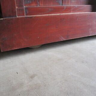 時代ダンス 車ダンス 木製 ケヤキ&杉  - 河北郡