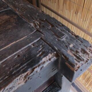 時代ダンス 車ダンス 木製 ケヤキ&杉  - 家具