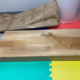 【未使用保管品】大きめ まな板 厚さ7.5cm 無垢材