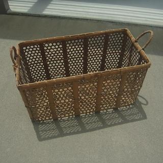竹籠(収穫かご)レトロ