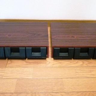 【カセットラック】【カセットケース】 ~45個収納可能×2…