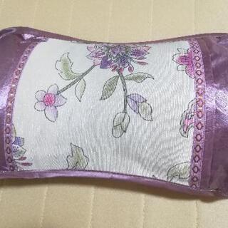 新品 枕 茶葉入り 抗菌  50×30cm 花柄