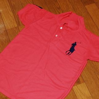 ■171 ラルフローレン ビッグポニー ポロシャツ ピンク(濃)...