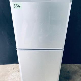 554番 三菱✨ノンフロン冷凍冷蔵庫✨MR-14R-S‼️