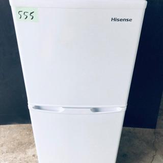 高年式‼️555番 Hisense✨2ドア冷凍冷蔵庫✨HR-B1...