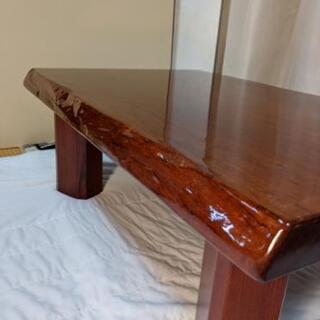 天板1枚物和風テーブル  - 家具