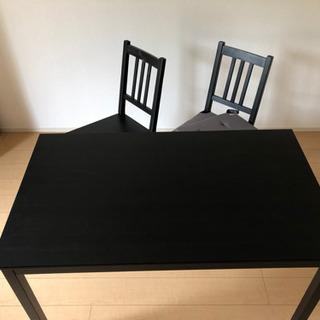 IKEA テーブル&チェア SET
