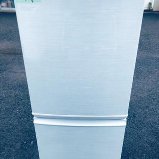559番 SHARP✨ノンフロン冷凍冷蔵庫✨SJ-14W-W‼️