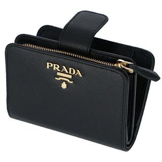 PRADA 2つ折り財布(新品)