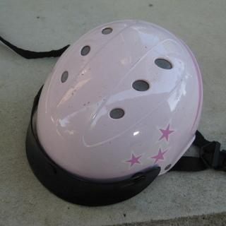 ブリヂスト ン自転車用ヘルメット 女児用1歳以上  46~52㎝