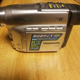 ジャンク品ビデオカメラ