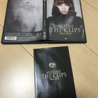 売約済 加藤ミリヤ クリップ集 DVD2枚組の画像