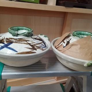【未使用】1人土鍋 小さい鍋が2つありませす  ミニ土鍋 …