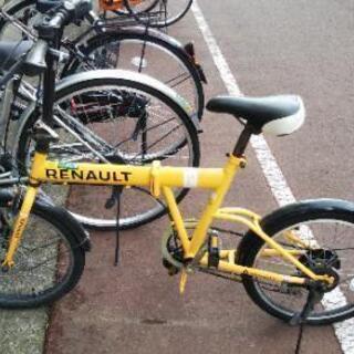【取引確定】ルノー折り畳み自転車