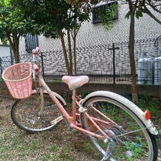 女児自転車