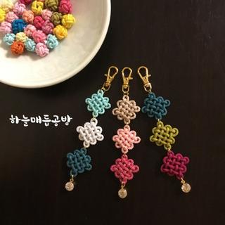 上尾市 韓国組紐教室 メドゥプ 結び