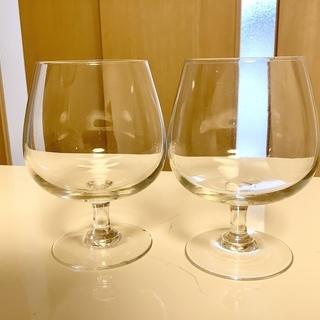 小さなワイングラス2個セット