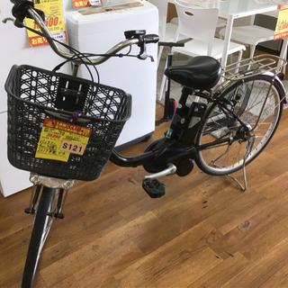S121★Panasonic★電動アシスト自転車★人気の黒★バッ...